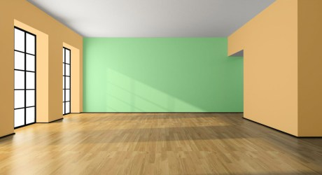 Empty Living Room Background Clipart