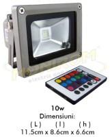 LED - proiectoare Proiector  LED RGB – 10w (telecomanda)  *TV 0,25ron
