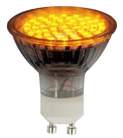 LED - Lichidare de stoc Bec Led – GU10 230v/30pcs/SMD3528 – yellow  *TV 0,25ron