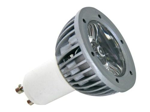 LED - Lichidare de stoc Bec power LED GU10 230v/1w 6400k
