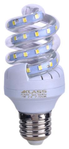 LED - Lichidare de stoc Bec Led – Klass spirala E27/ 7w 2700k  *TV 0,25ron