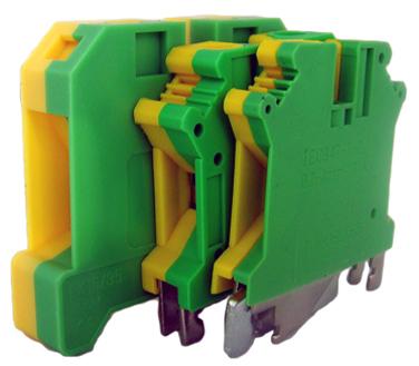 Tablouri electrice Regleta pentru sina DIN G/V  10mm