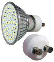 LED - Lichidare de stoc Bec Led – GU10 230v/48pcs/SMD3528  2700k  *TV 0,25ron