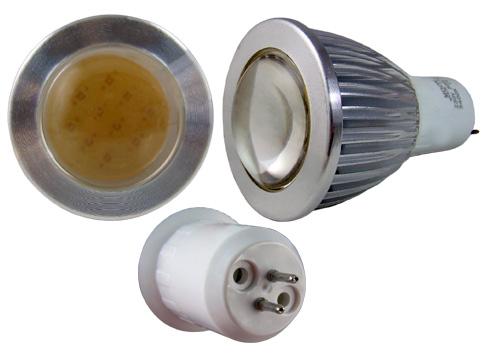 LED - Lichidare de stoc Bec Led – MR16 COB 230v/5w 2700k  *TV 0,25ron