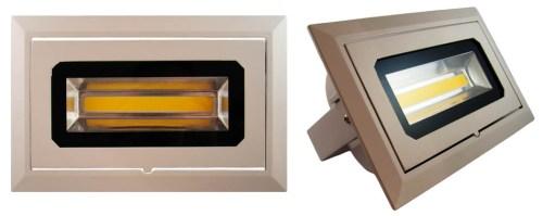 LED - comercial/office Spot Led reglabil TDH399/COB 30w/2700k (montaj ingropat)  *TV 0,25ron