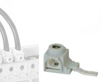 Accesorii instalatia electrica Clema alimentare bara nul / pieptene  TB25