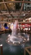 The whirlpool inside Marina Bay Sands Shopping Mall