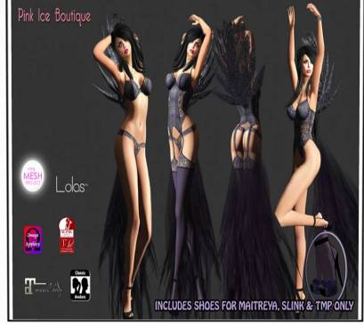 Pink Ice Boutique - 200L http://maps.secondlife.com/secondlife/Fashion%20For%20Life4/56/102/25