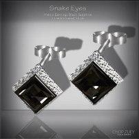 Men's Day 4: Snake Eyes Mens Earrings