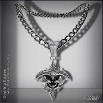 Men's Day 3: Soaring Eagle mens Necklace