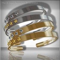 Men's Day 9: The 4 Star General Mens Bracelets Set