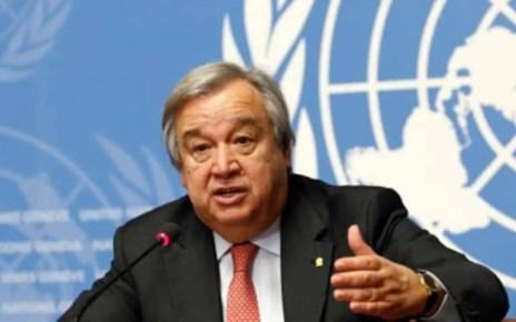 Antonio Guterres secretario general de la ONU asegura que el mundo est? pagando el precio de no haberse unido en contra del coronavirus