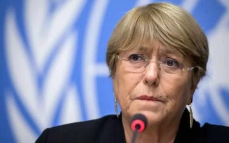 Michell Bachelet alta comisionada DDHH ONU present? su informe sobre la situaci?n en Venezuela