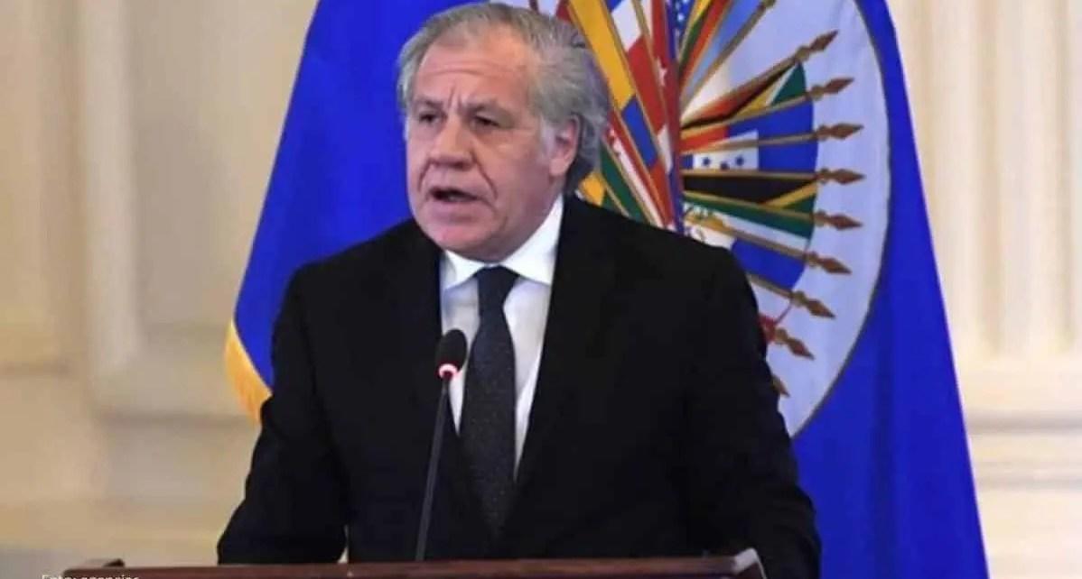 """Almagro asume segundo mandato ante la OEA y promete """"no ceder ni un ?pice en la lucha contra las dictaduras"""", adem?s del apoyo a los paises del hemisferio"""