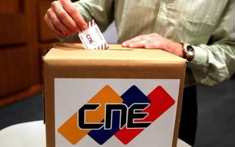 Simulacro electoral para las parlamentarias del 6D será este domingo 25 de octubre