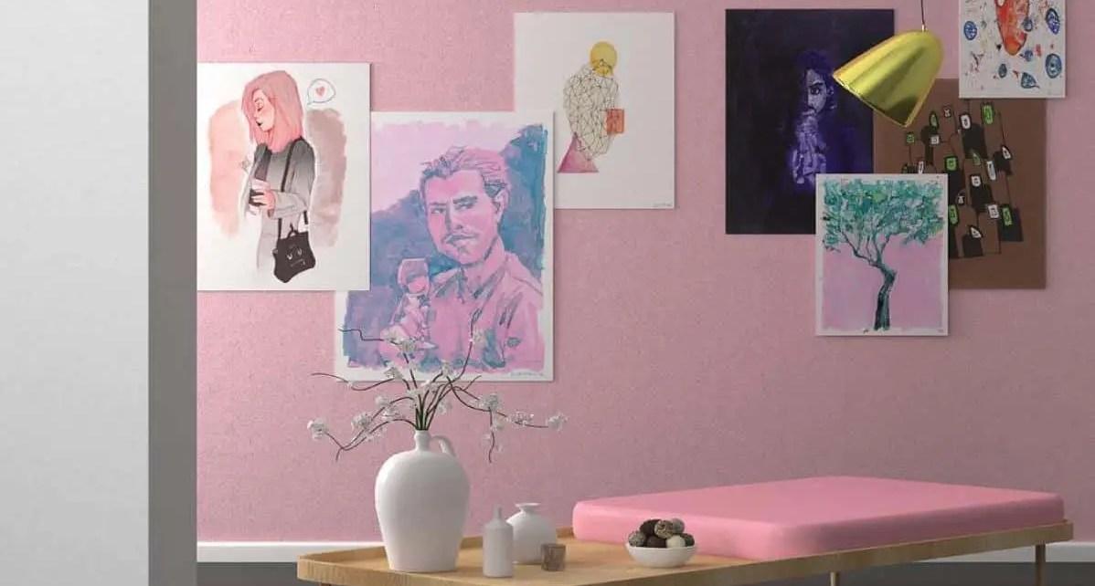 En los ?ltimos meses muchas personas han desatado su creatividad y lado art?stico. El muro en la pared es una buena opci?n.
