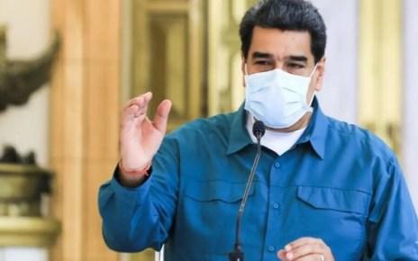 Maduro ofreció el balance diario y destacó una leve pero significativa disminución de casos.