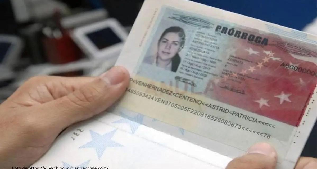 Funcionarios de la Embajada de Venezuela en Chile, informaron este miércoles una nueva modalidad para retirar prórrogas y pasaportes
