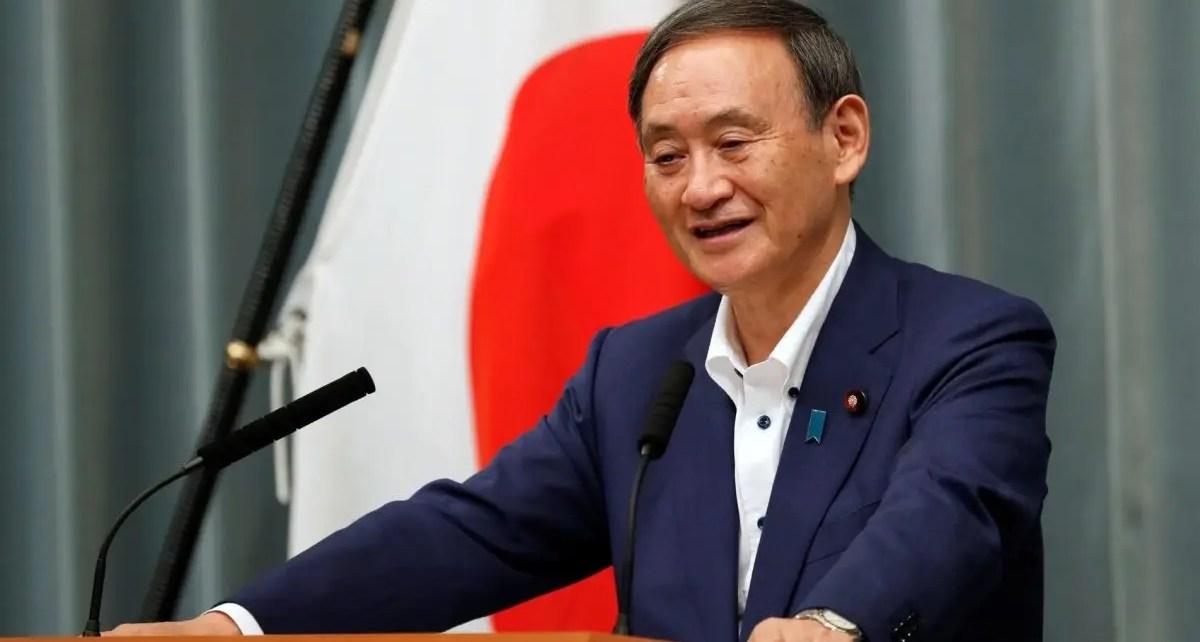 Yoshihide Suga fue confirmado por el Parlamento