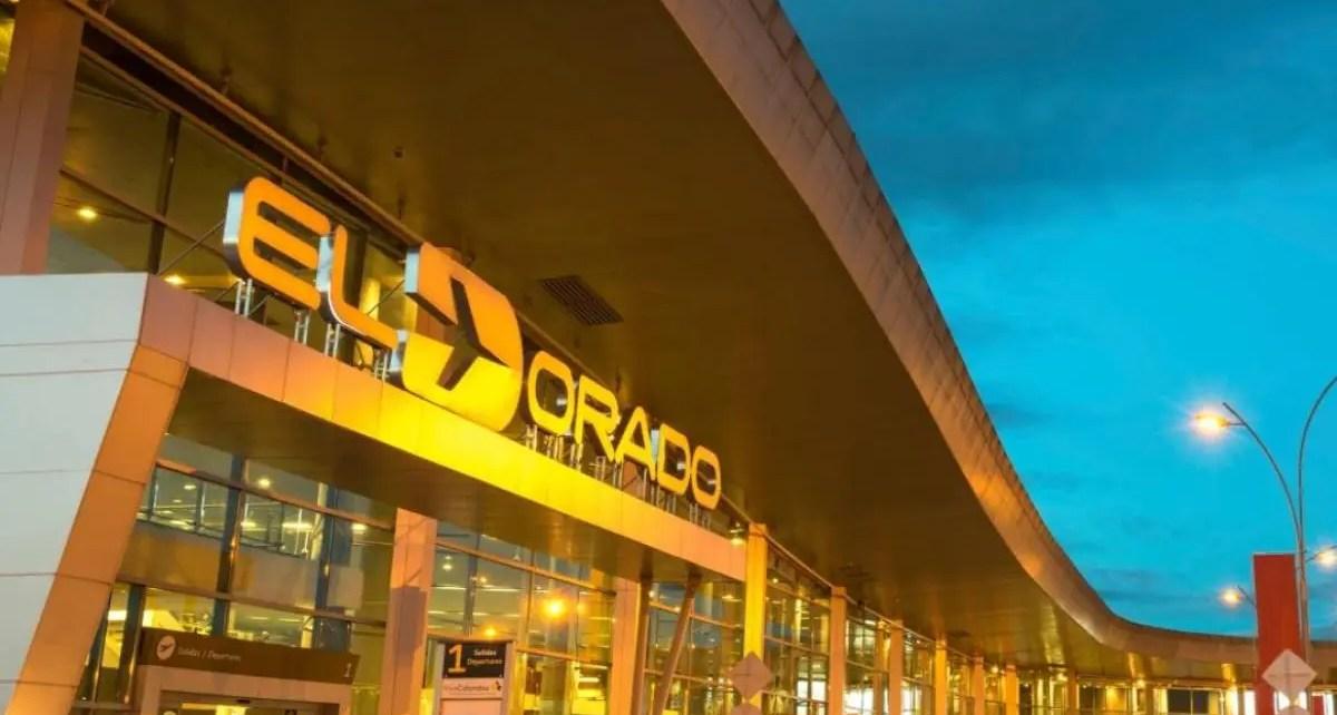 El aeropuero El Dorado de Bogotá es uno de los autorizados para iniciar los vuelos internacionales desde Colombia
