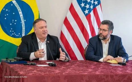 Las declaraciones las emitió Pompeo durante su visita a Brasil, donde además fue a un centro de acogida de venezolanos