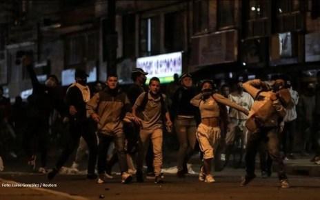 Las protestas en Colombia continuaron este jueves