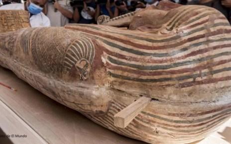 ¡De hace 2.500 años! Hallan 59 sarcófagos en el cementerio faraónico de Saqqara (+video)