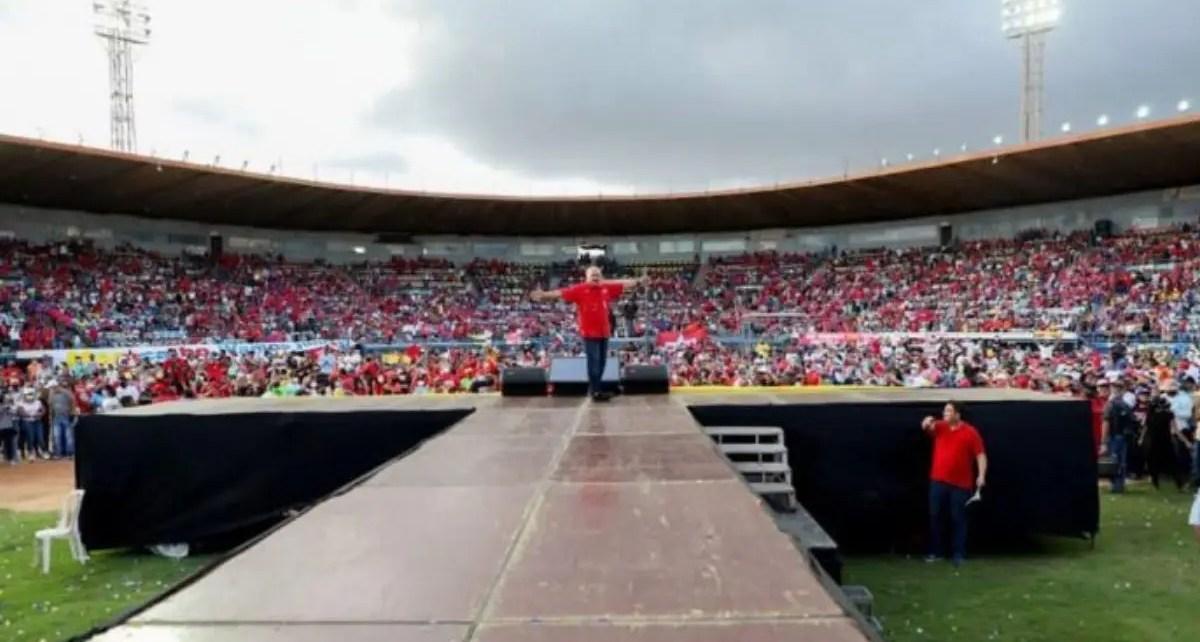 Campaña sin distanciamiento protagonizó el Psuv en Zulia -