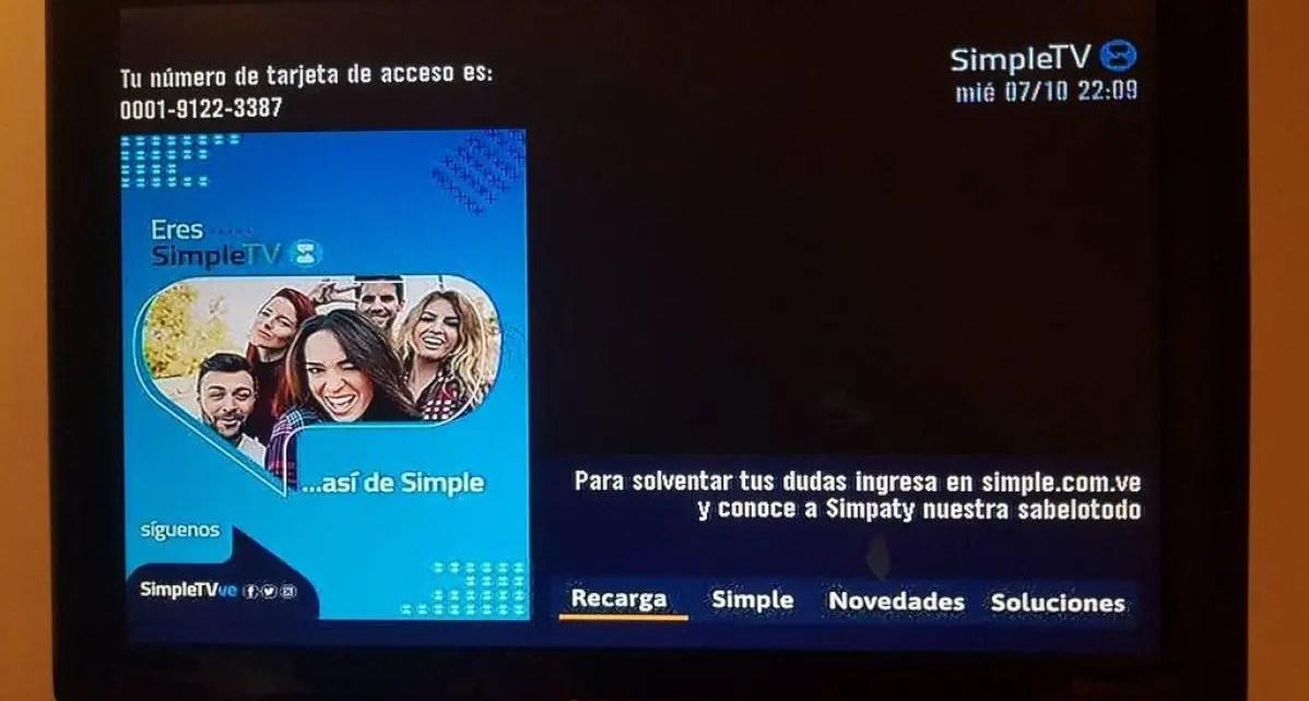 SimpleTV anunció los planes que ofrecerá a partir del 15 de diciembre