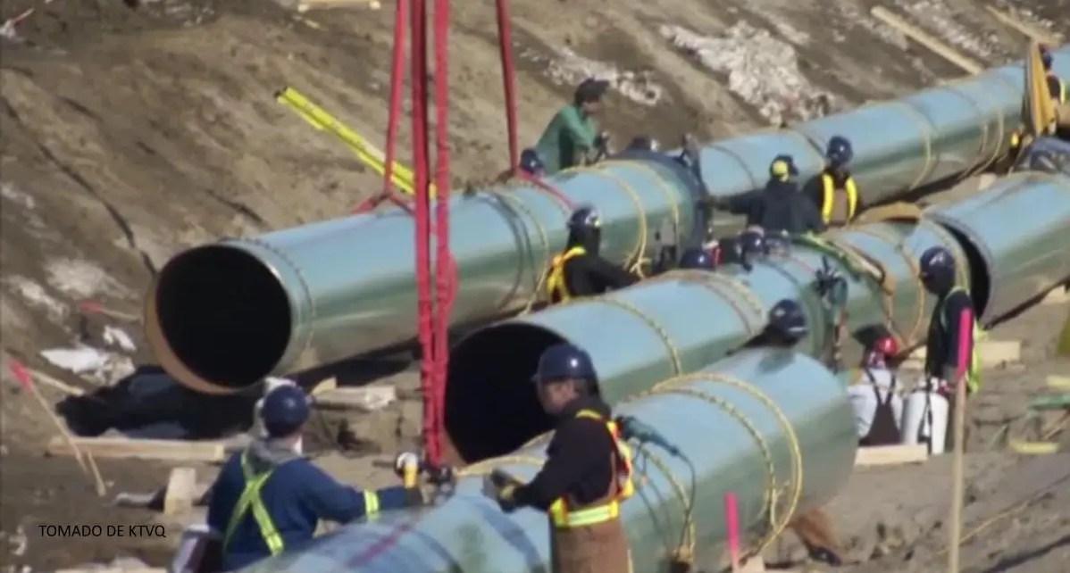 ConstrucciónOleoducto Keystone XL