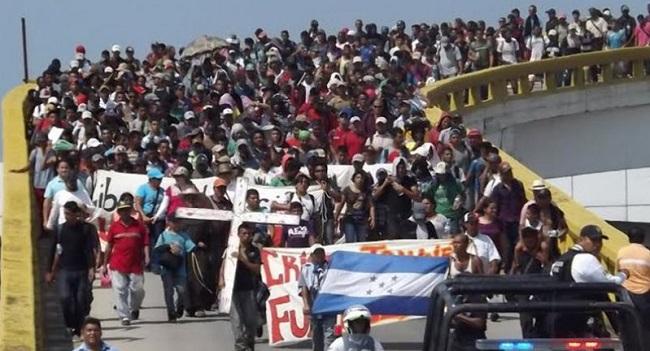 Resultado de imagen para caravana migratoria