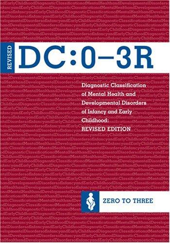 DC 0-3R Clasificarea diagnostica a sanatatii mentale si a tulburarilor de dezvoltare ale copilariei timpurii de la 0 la 3 ani