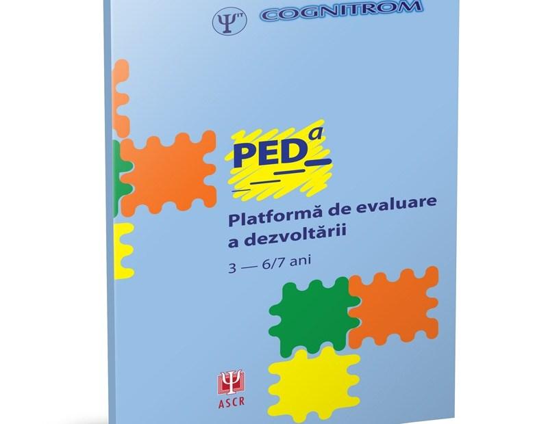 PEDa – Platformă de evaluare a dezvoltării 3-6/7 ani
