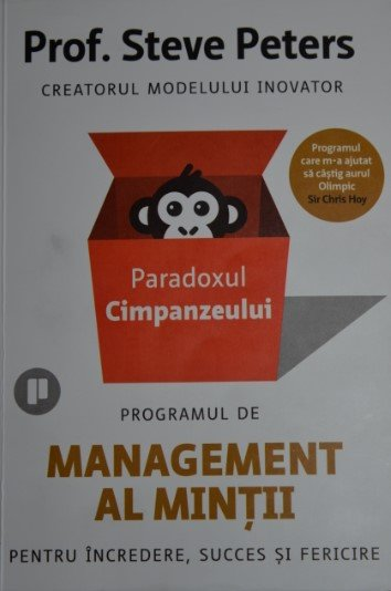 Paradoxul Cimpanzeului - Prof. Steve Peters