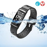 Fitness Tracker, LEKANG Activity Tracker with Wrist-Based Heart Rate Monitor, Water Resistant Smart Band with Step Tracker Sleep Monitor Calorie Counter Notification Alerts for Android iOS
