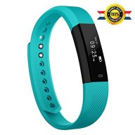 Fitness Tracker,Luluking Activity Tracker Water Resistant with Sleep Monitor, Bluetooth Smart Wristband Bracelet Sport Pedometer fitness Watch Step Tracker/Calorie Counter for Android and ios (Green)