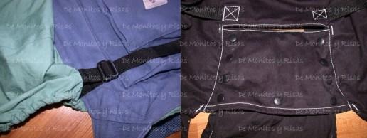 Los ajustes del largo de las capuchas
