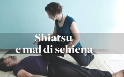Ho mal di schiena, mi fai shiatsu?