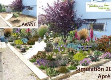 Massif Pour Petit Jardin | Arbre Pour Massif Chamaerops Humilis With ...