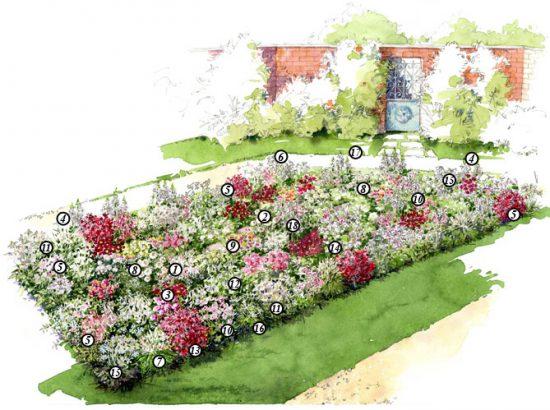 comment creer un massif fleuri choix