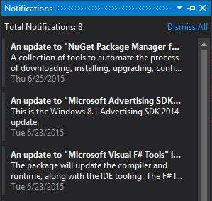 Nuget Notifications