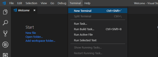 visual studio code terminal