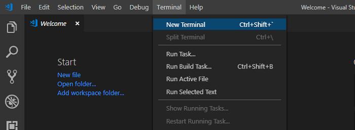 visual studio code terminal