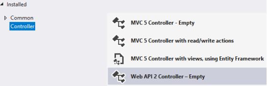 create a new Controller