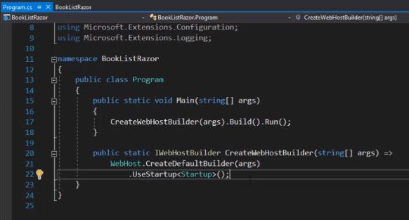 Program.cs file in asp.net core