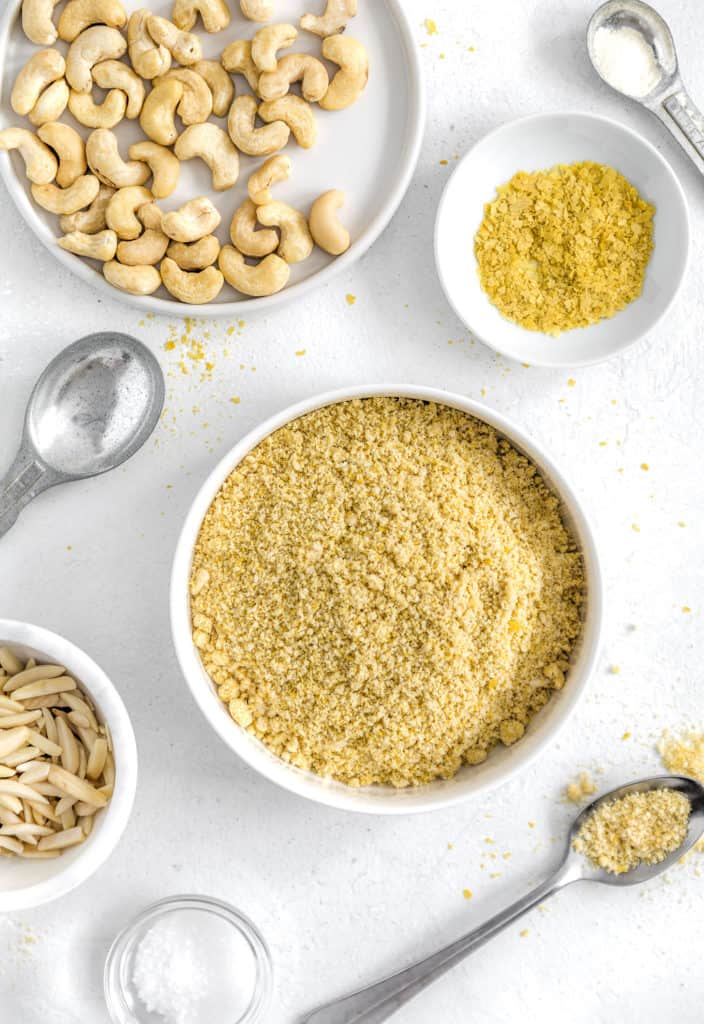 Vegan Parmesan Cheese - Monkey and Me Kitchen Adventures