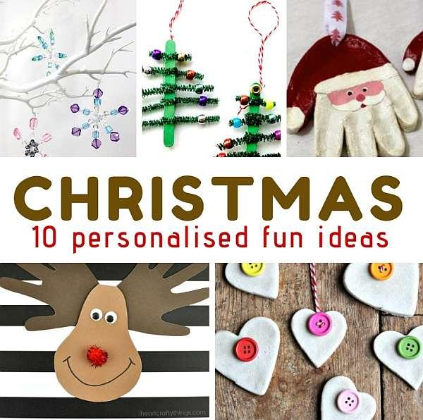 10 personalised ideas for