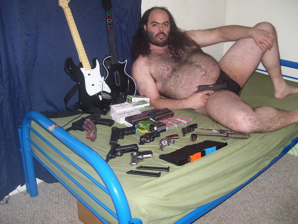 Sex, guns, and rock-n-roll!