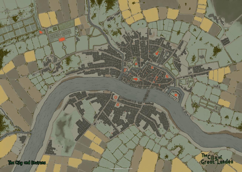 GL map