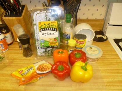 Couscous-Stuffed Peppers Ingredients